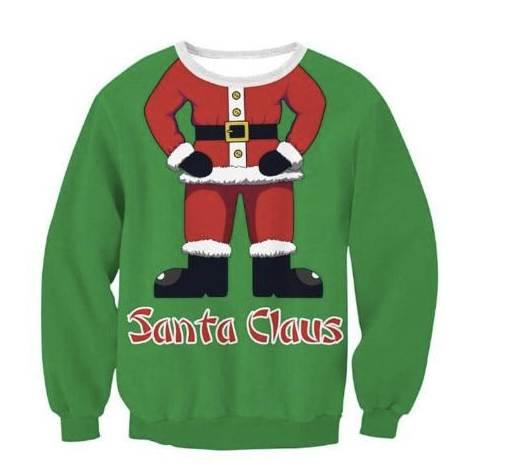 Be Like Santa | Ugly Christmas Sweater