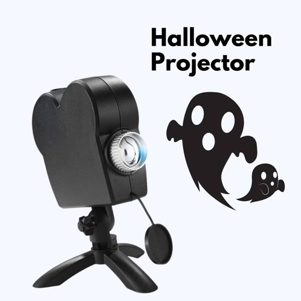 Halloween & Christmas Holographic Window Projector ($10 Automatic Off on Checkout Page)