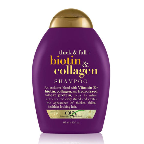 OGX Thick&Full Biotin &Collagen Shampoo385ml