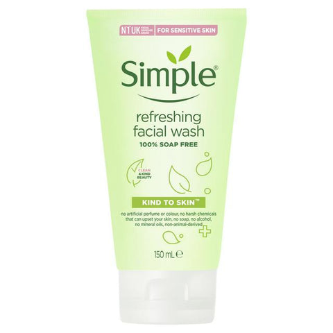 Simple Refreshingly Clear Facewash