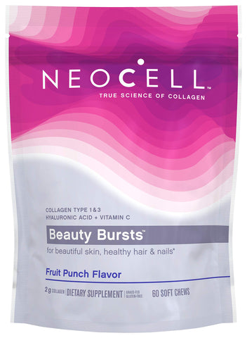 Neocell Beauty Bursts, Fruit Punch Flavor, 2 g , 60 Soft Chews