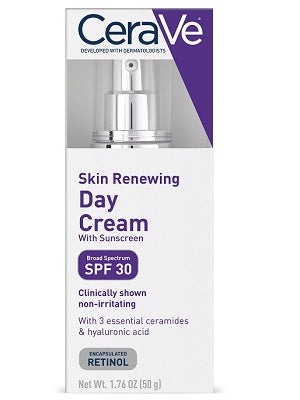 Cerave Skin Renewing Day Cream WITH BROAD SPECTRUM SPF 30 50g