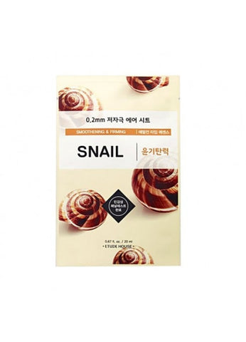 ETUDE HOUSE SNAIL SHEET MASK 0.2mm (smoothening and firming )