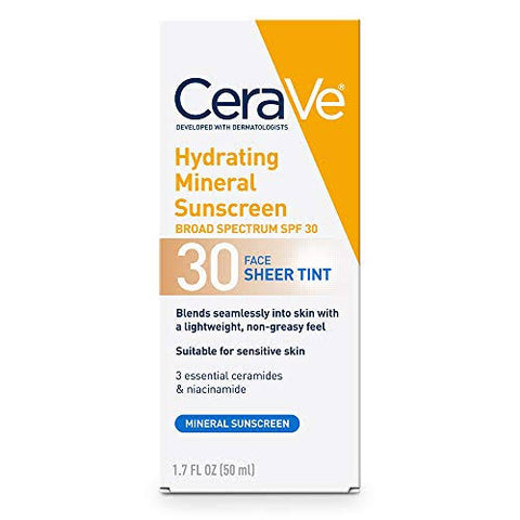 Cerave Hydrating Sunscreen Sheer Tint Spf30.
