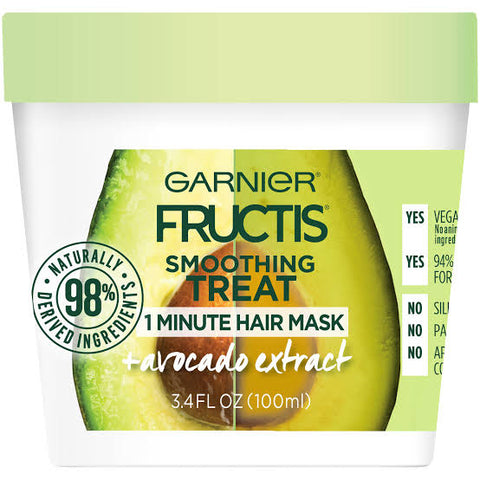 Garnier Fructis smoothing treat 1 minute Hair Mask 100ml
