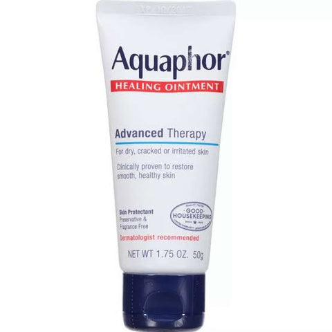 Aquaphor Healing Ointment, Skin Protectant, 1.75 oz (50 g)