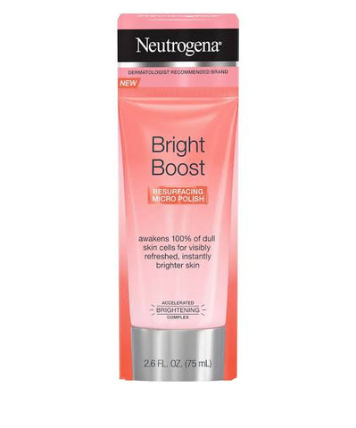 Neutrogena Bright Boost Resurfacing Micro Face Polish with Glycolic and Mandelic AHAs