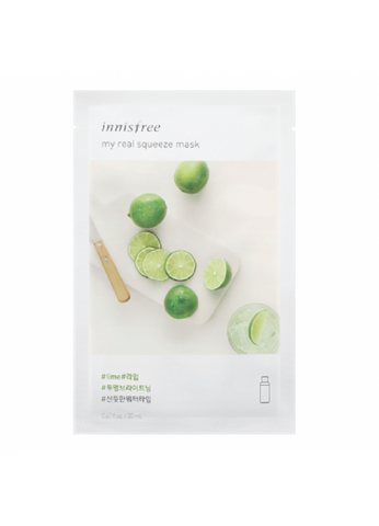INNISFREE - My Real Squeeze Mask [Lime]
