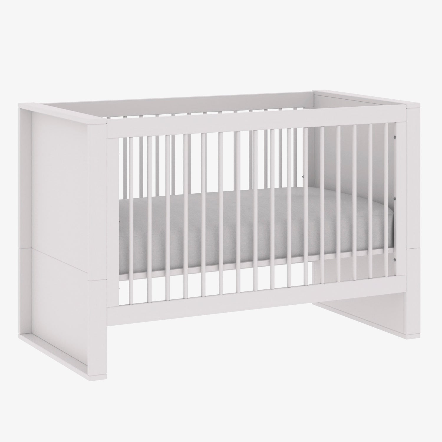 Milk Collection Bundle: Crib, Dresser, Wardrobe