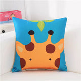 Animal Themed Square Cushion Case