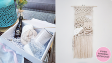 Load image into Gallery viewer, Macrame Weave - Craft Gift Box + Video Tutorial