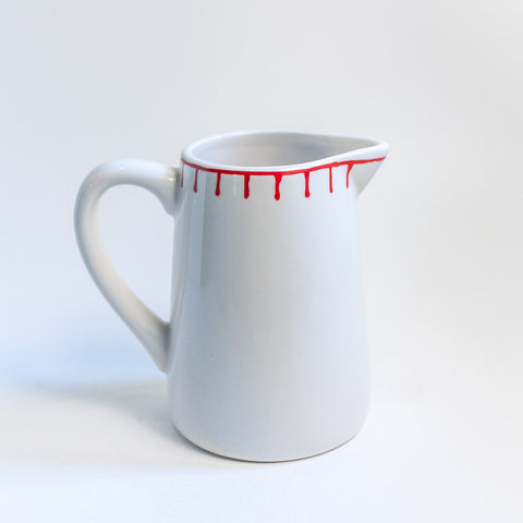 Red Stitch Creamer