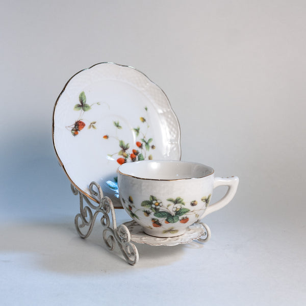 Child's Strawberry Tea Cup Set