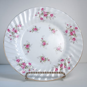Rose Pattern Heirloom Plates