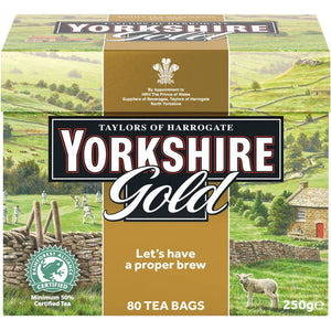 Yorkshire Gold Tea Bags 80 count