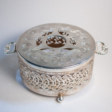Silver-plated Teapot Warmer