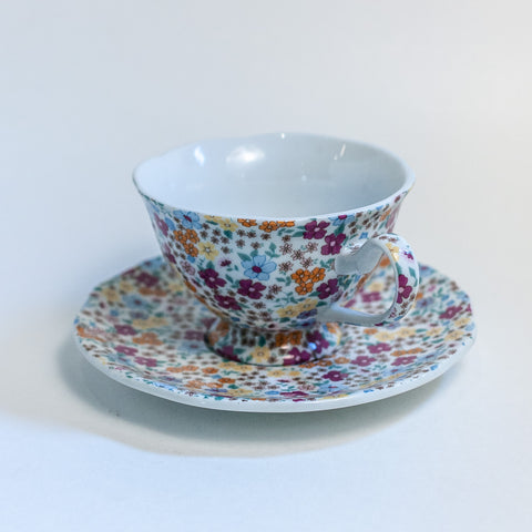 Two's Company Tea Cup
