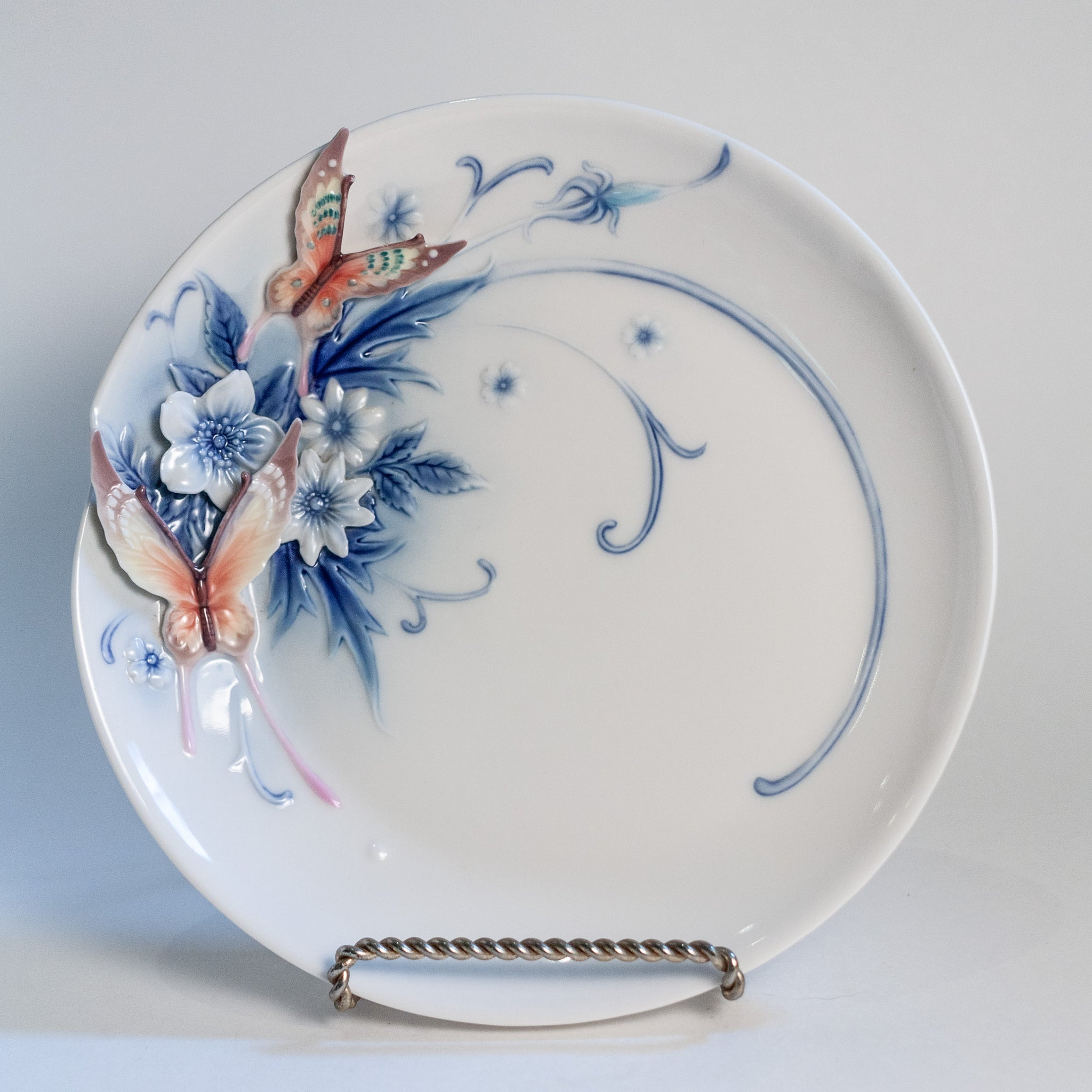 Franz Sculpted Porcelain Plate