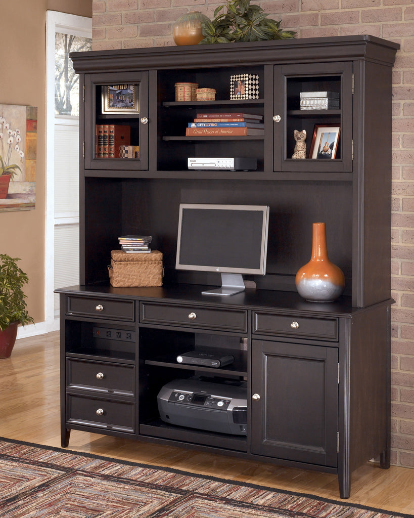 Ashley Furniture H371 49 Carlyle Credenza And Tall Hutch