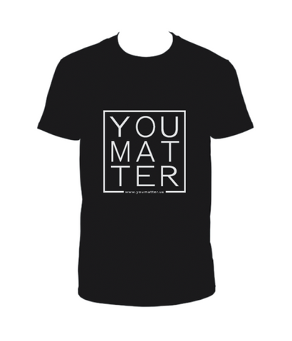 YOUMATTER T-Shirt Black