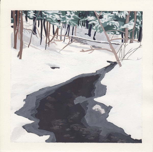 Snowy Creek *Available at Mill Street Studio Pop Up