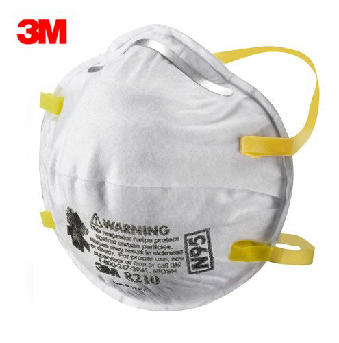 3M N95 Particulate Respirator Mask 8210