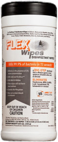 FLEX Wipes Surface Disinfectant Wipes