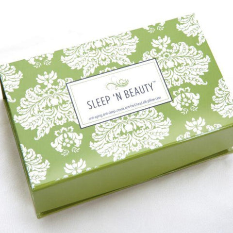 100% Silk Pillowcase (Queen/Standard Size ) with Free Gift Box