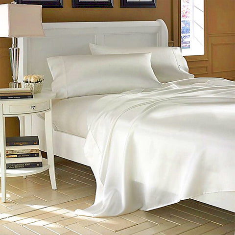 100% Mulberry Silk Sheet Set (California King)