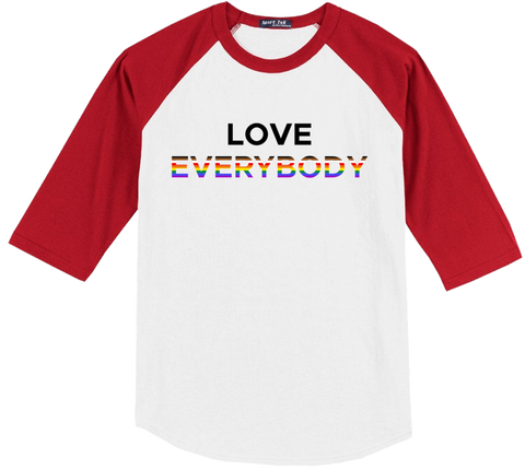 Love Everybody Raglan