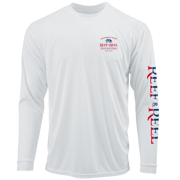 Reef & Reel Drink Catch Repeat Performance LS Shirt