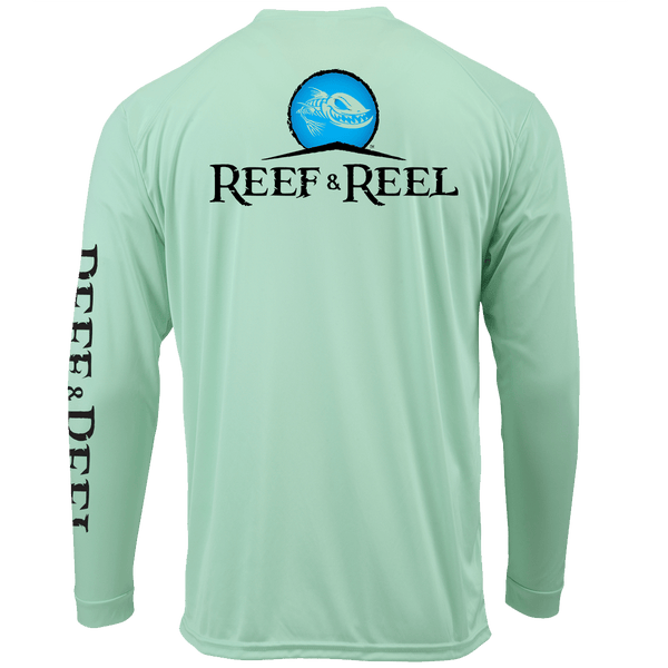 Reef & Reel OG Logo Performance LS Shirt