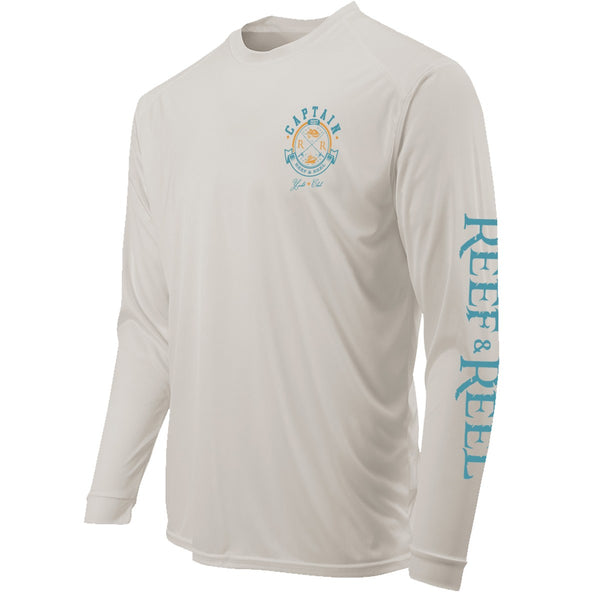 Reef & Reel Yacht Club Long Sleeve Performance LS Shirt