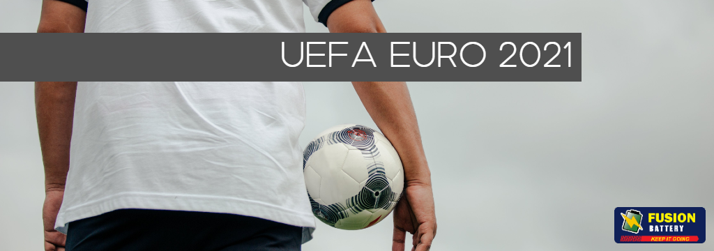 UEFA EURO 2020 - Batteries for your camcorders and cameras