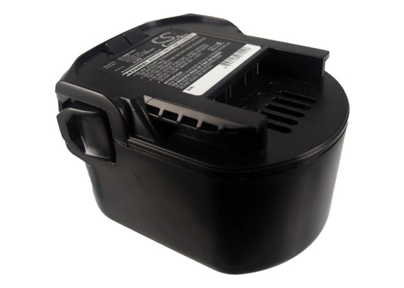 Battery for AEG BSB 12 STX 0700 980 320, B1215R, B1220R, M1230R 12V Ni-MH 3300mA