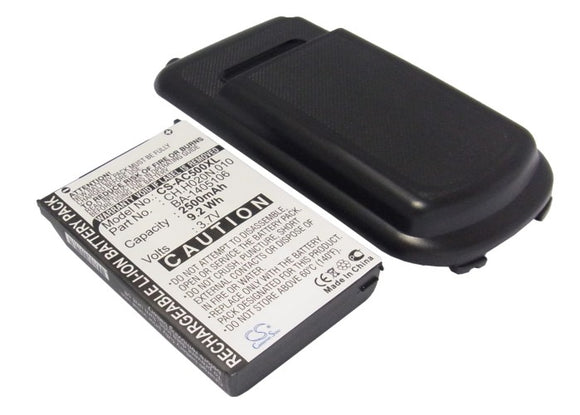 Battery for Acer C500 BA-1405106, CP.H020N.010 3.7V Li-ion 1800mAh / 6.66Wh