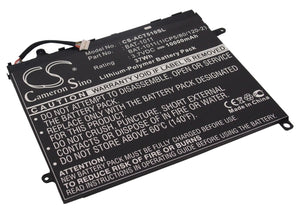 Battery for Acer Iconia Tab A710 BAT-1011, BAT-1011(1ICP5/80/120-2), BT.0020G.00