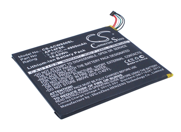 Battery for Acer A1-850-A1410 AP14F8K, AP14F8K (1ICP4/101/110), KT.0010M.003 3.8
