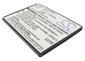 Battery for Acer Z160 BAT-611, KT.0010B.006 3.7V Li-ion 1250mAh / 4.63Wh