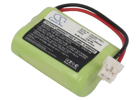 Battery for Audioline DECT 7800 Micro SL30013 2.4V Ni-MH 400mAh / 0.96Wh