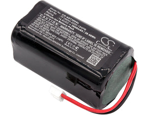 Battery for Audio Pro T3 TF18650-2200-1S4PB 14.8V Li-ion 2600mAh / 38.48Wh