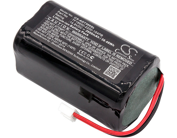 Battery for Audio Pro Addon T3 TF18650-2200-1S4PB 14.8V Li-ion 2600mAh / 38.48Wh