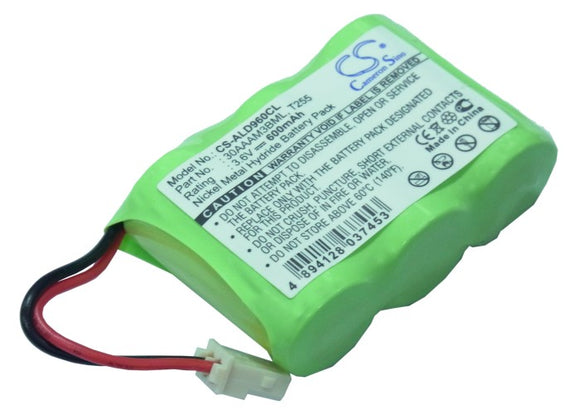 Battery for Audioline CLT 3600 3.6V Ni-MH 600mAh