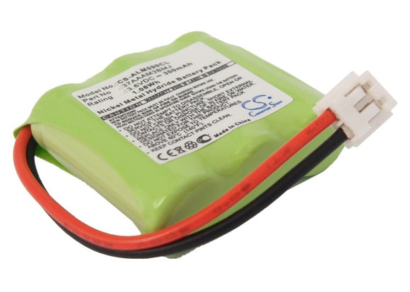 Battery for AT&T EL41108 3.6V Ni-MH 300mAh / 1.08Wh