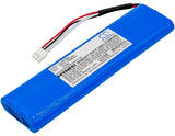 Battery for AEMC 6471 2960.21, 525832D00 9.6V Ni-MH 3500mAh / 33.60Wh
