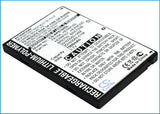 Battery for Audiovox PPC-6700 35H00060-00M, 35H00060-01M, 35H00060-04M, BA S100,