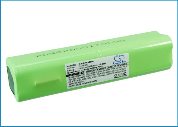 Battery for Allflex PW320 51FE0421 9.6V Ni-MH 700mAh