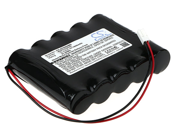 Battery for Atmos Pump Atmolit N 120157, BATT/110157 12V Ni-MH 1800mAh / 21.60Wh