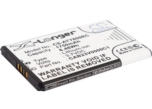 Battery for Alcatel One Touch Link Y800Z CAB23V0000C1 3.7V Li-ion 1750mAh / 6.48