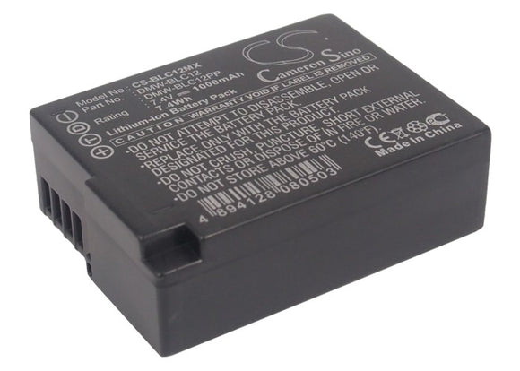 Battery for Leica V-Lux 4 BP-DC12 7.4V Li-ion 1000mAh / 7.40Wh
